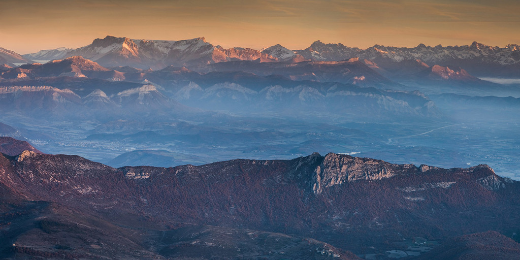 34. Chainons calcaires provençaux - Lure - Alpes de Hte Provence