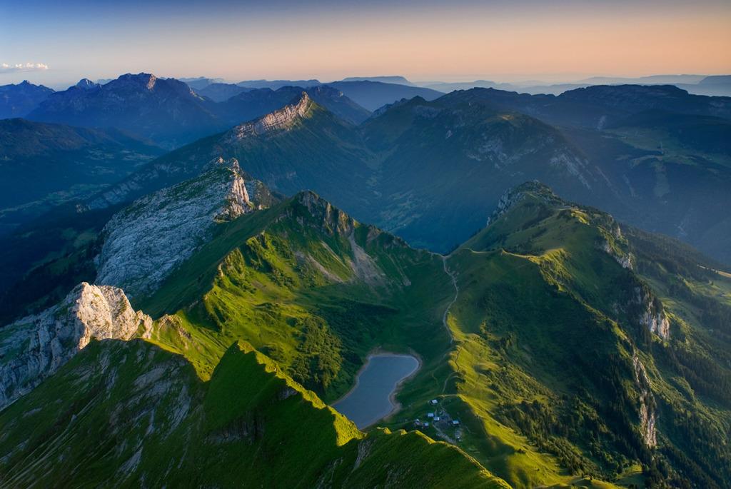 33. Lac de Lessy - Bornes - Haute Savoie