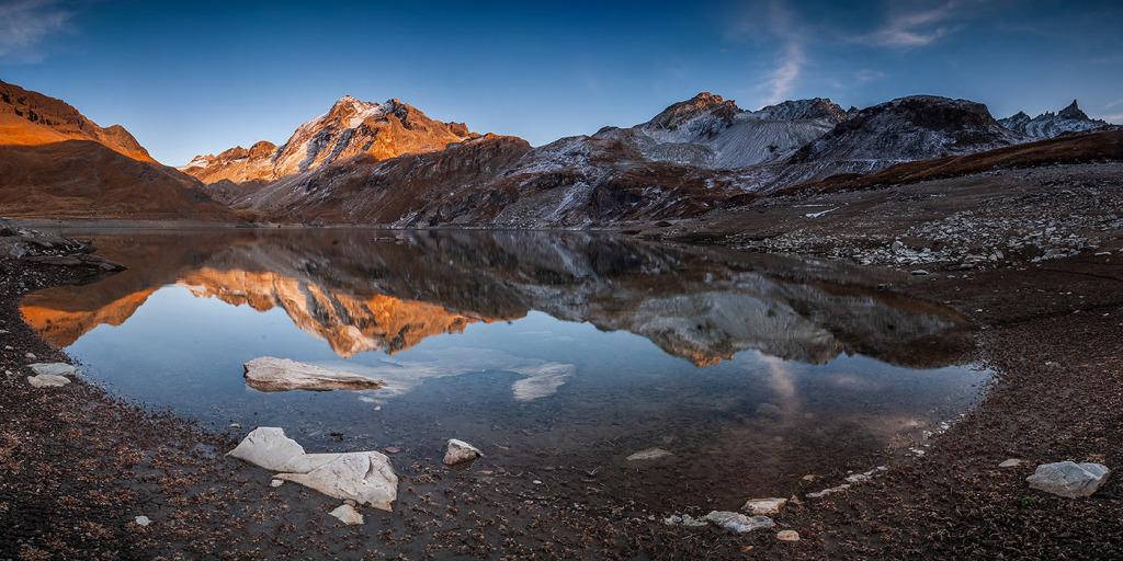 28. Lac de la Sassière - Haute Tarentaise - Savoie