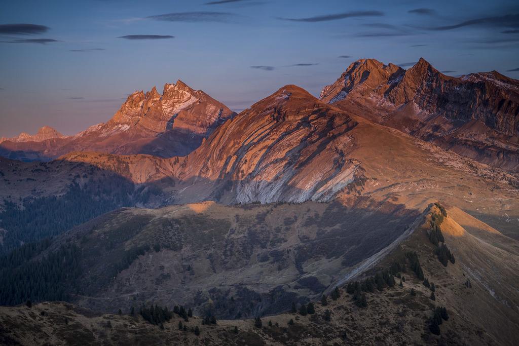 22. Plis de Bostan et des Dts du Midi - Chablais - Hte Savoie