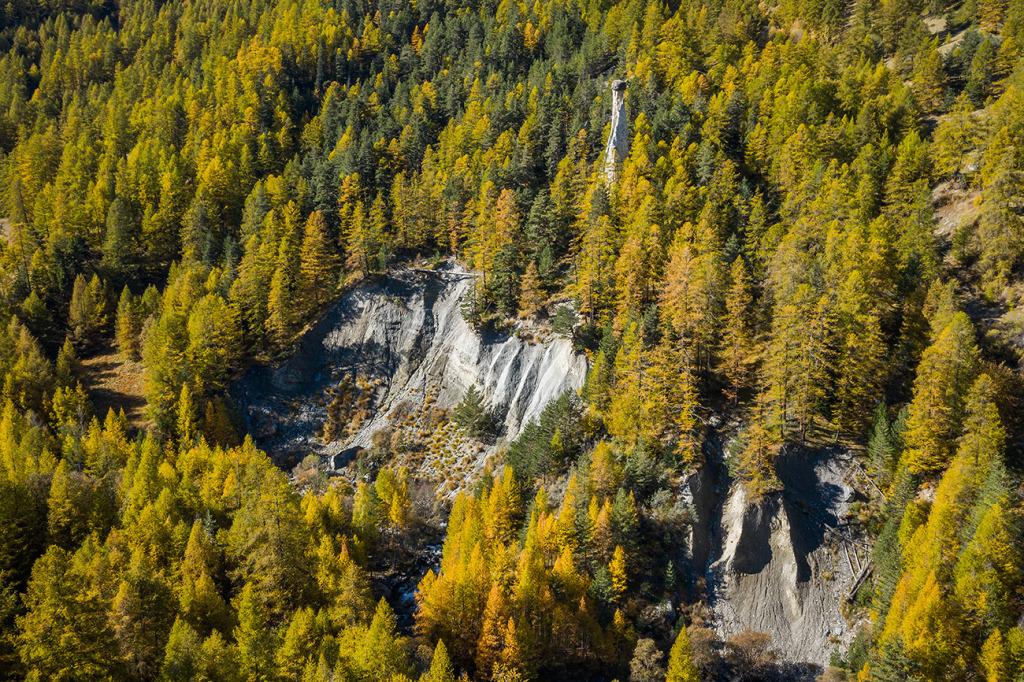 12. Cheminée de Molines - Queyras - Hautes Alpes