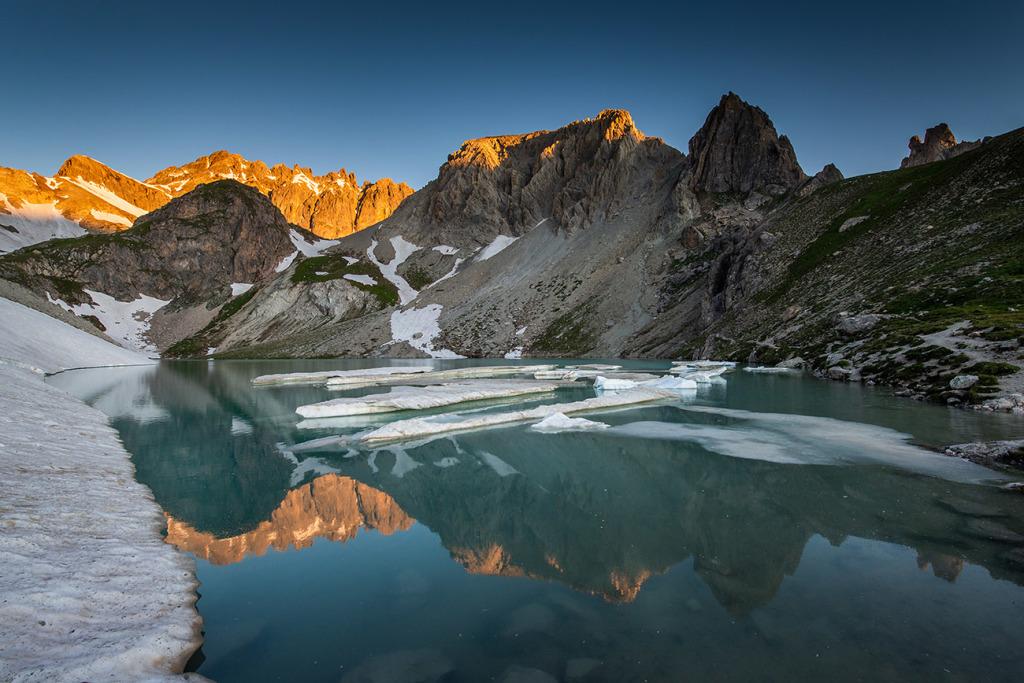 9. Lac des Béraudes - Cerces - Hautes Alpes